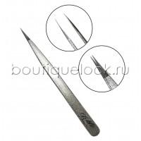 Пинцет прямой, японская сталь silver, тип 1