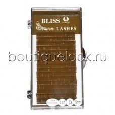 Ресницы BLISS горький шоколад C, отд. длины