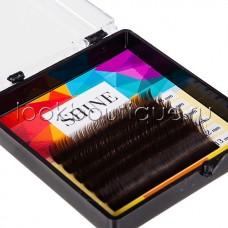 Мини-Палетки Shine Цветные (Тёмно-Коричневые), 6 ЛЕНТ